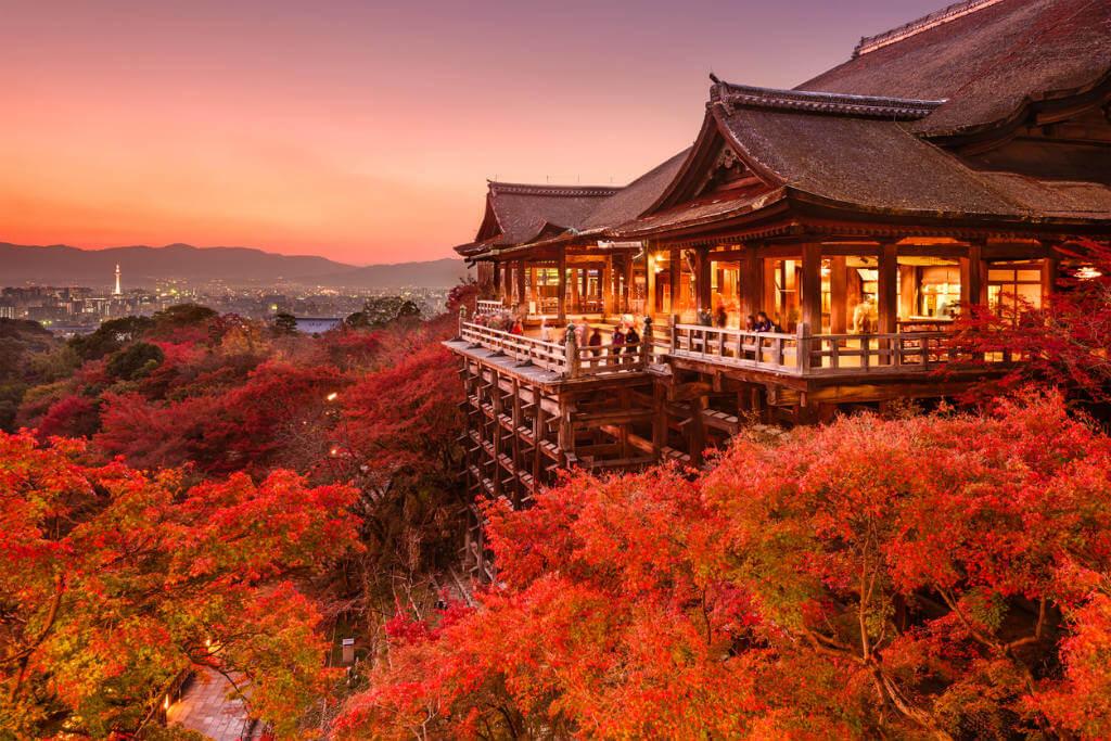 Viajar a Japón, Templo Kiomizudera
