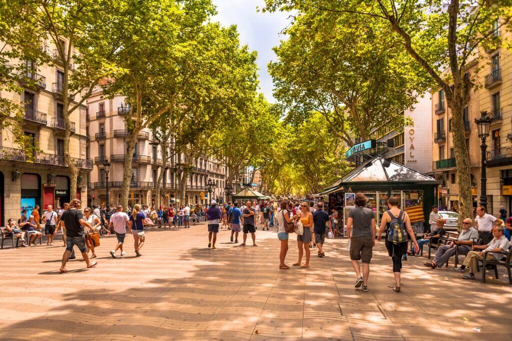 Viajar en Junio, Barcelona