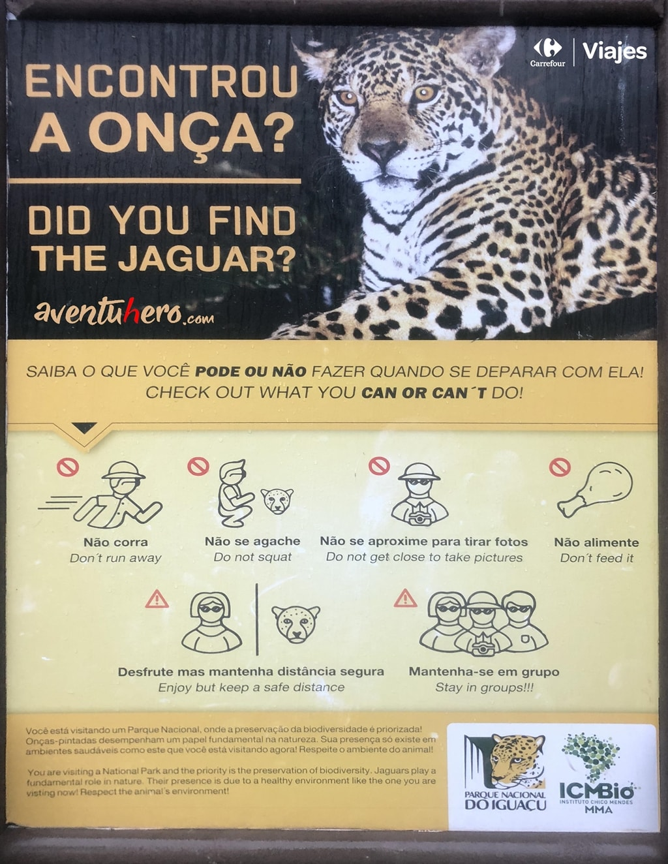 Peligro jaguar