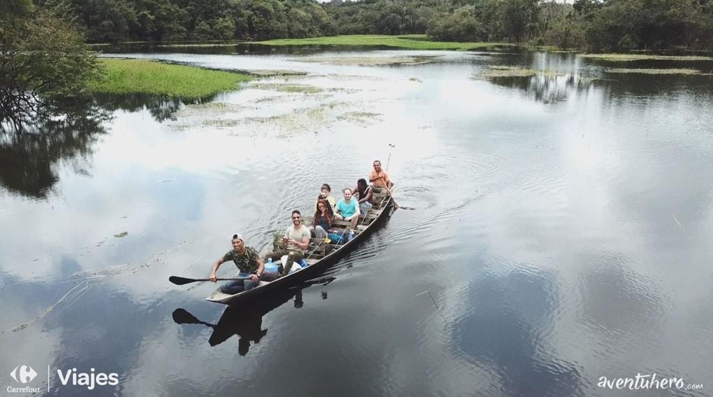 Atravesando el Amazonas