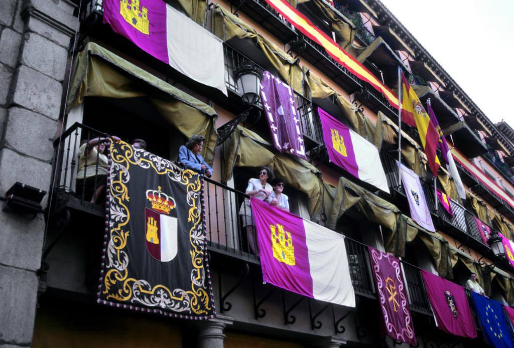 Consejos para disfrutar del Corpus, Balcones