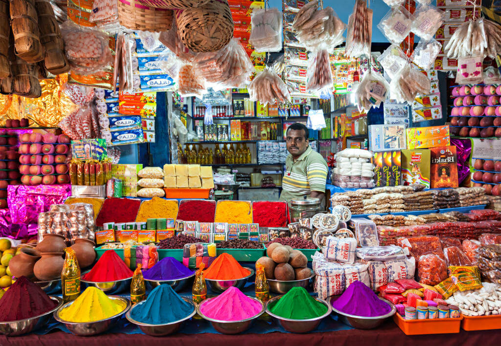 Consejos para viajar a India, Tienda