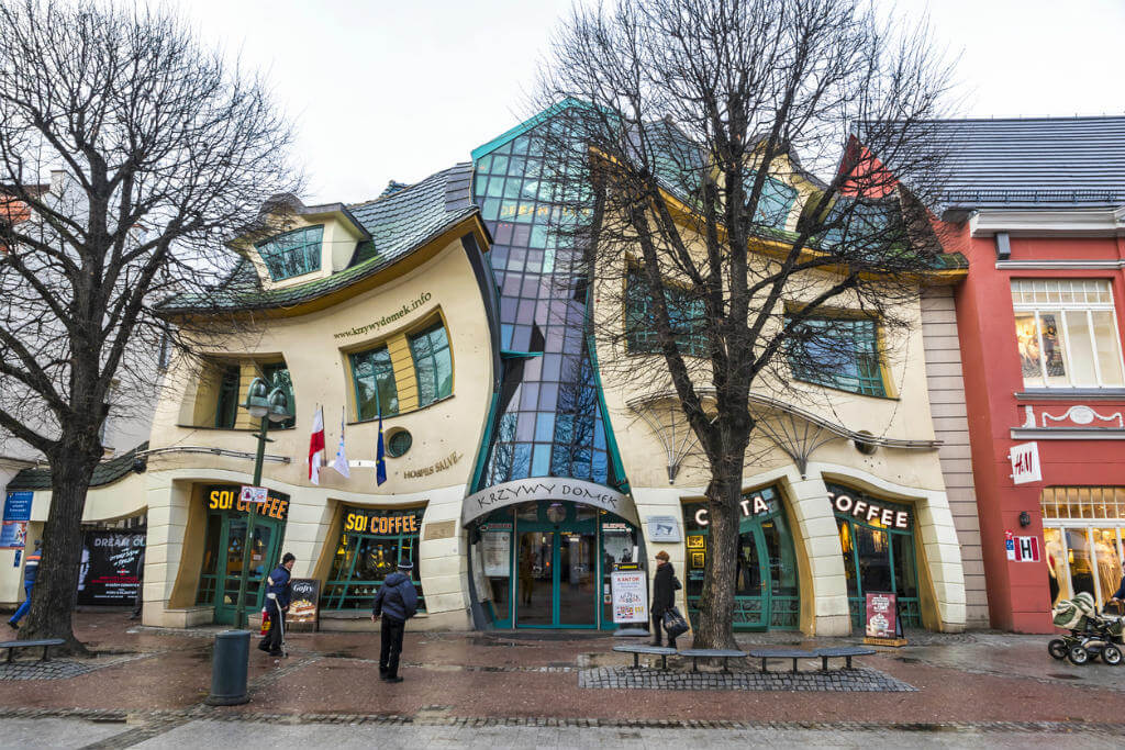 Edificios más raros de Europa, Krzywy Domek