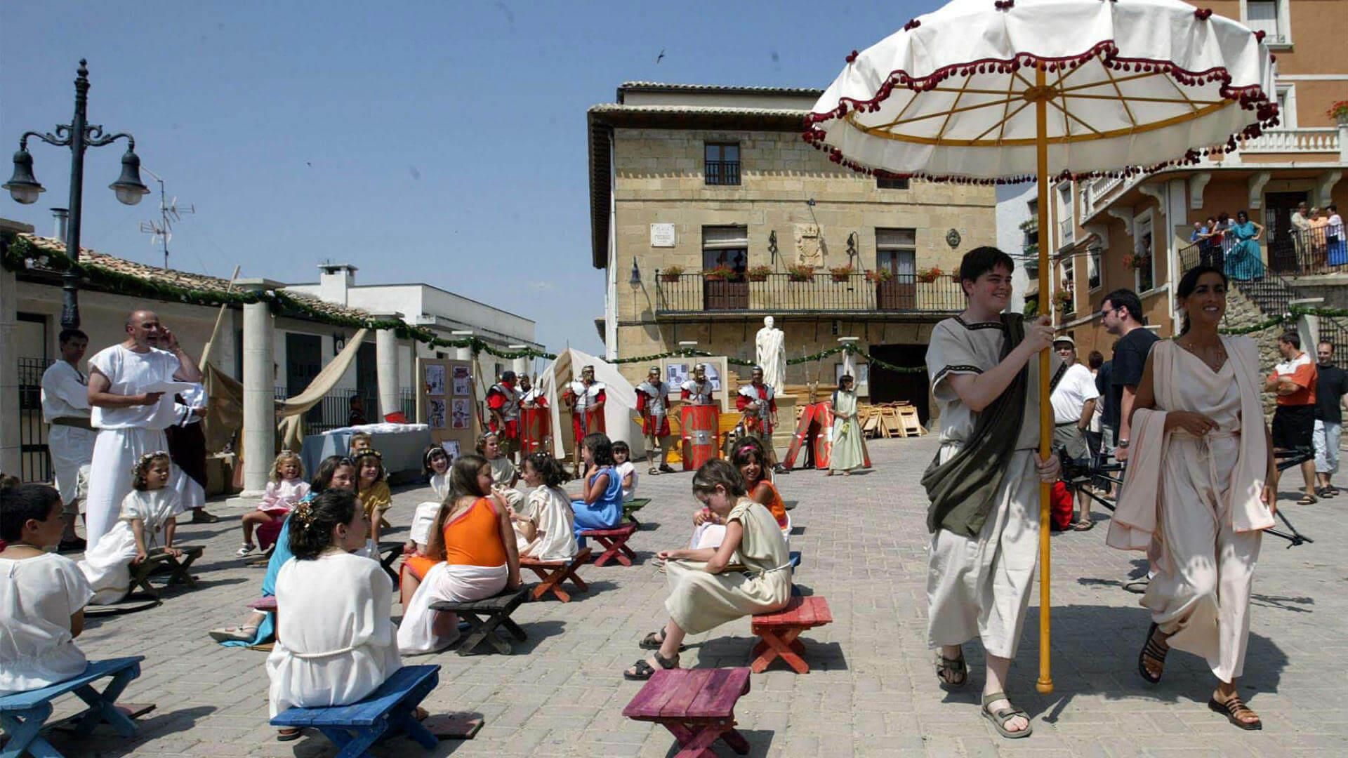 festival romano andelos