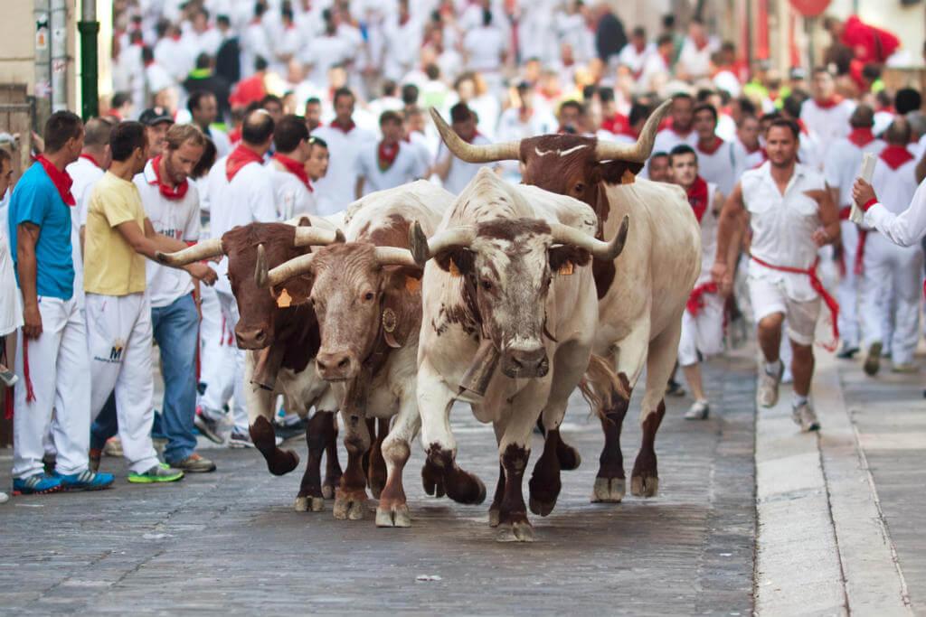 Fiesta San Fermín, Encierro
