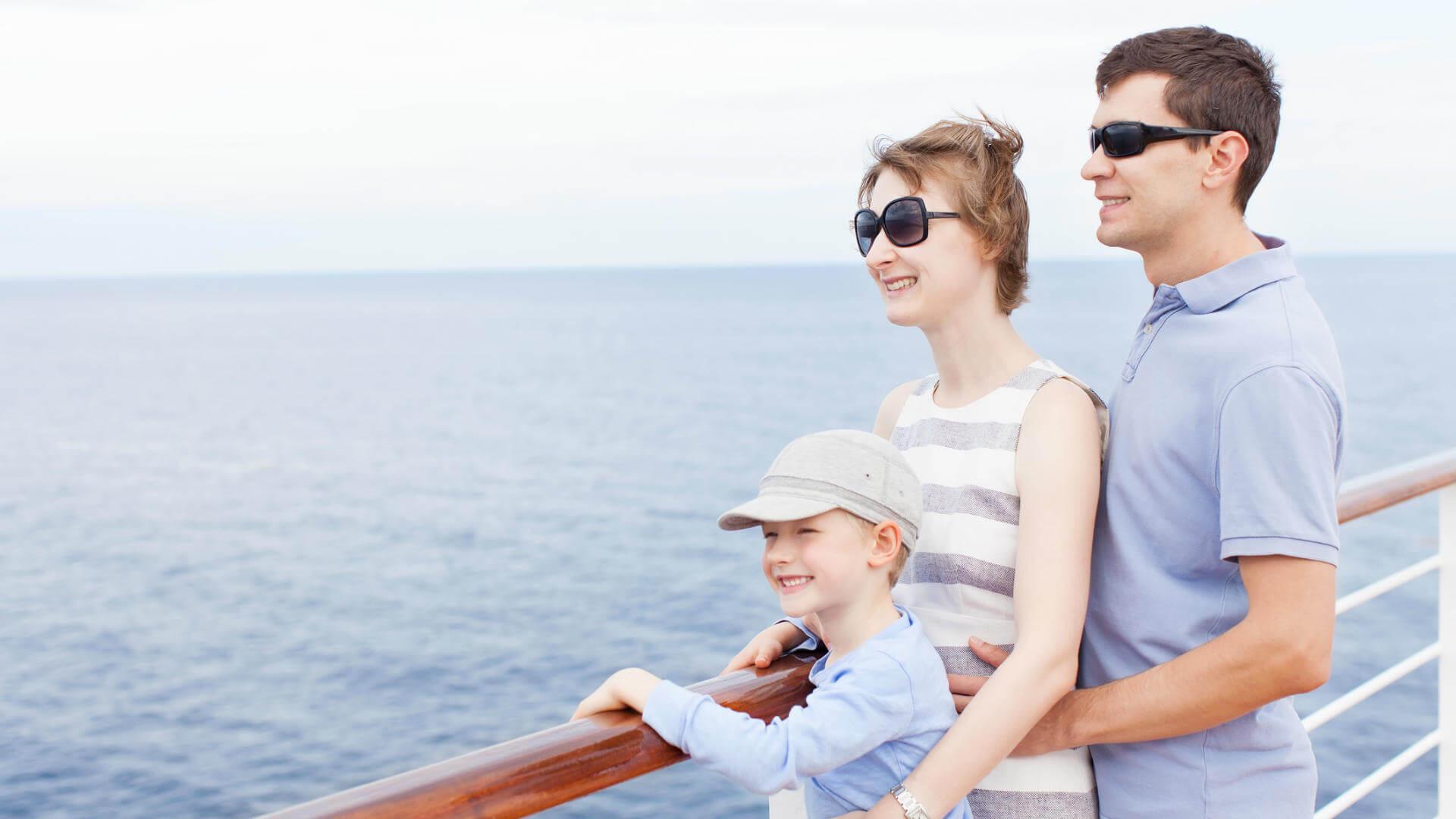 hacer crucero familia
