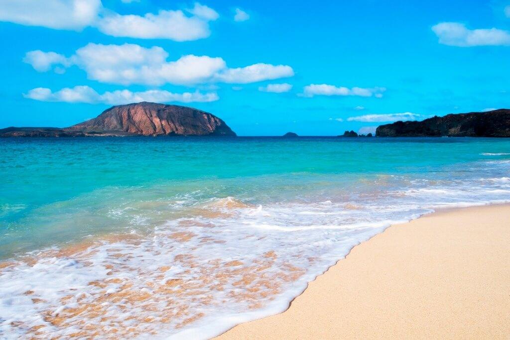 Playa La Graciosa, Islas Canarias