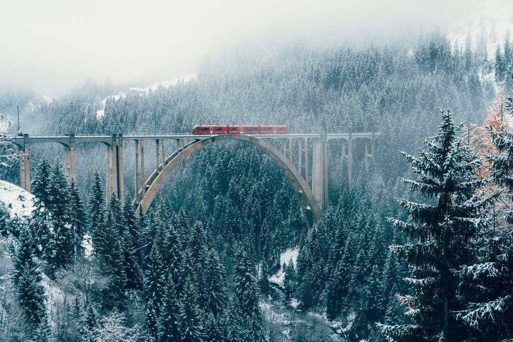 Viaje por Europa en tren