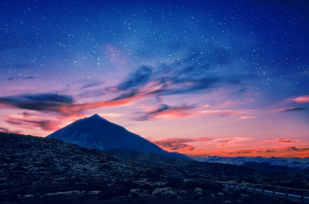 Vista Nocturna, Parque Nacional del Teide