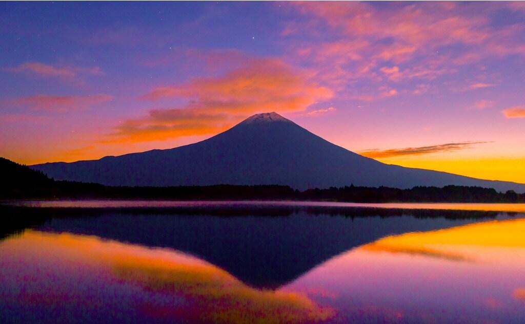Atardecer Monte Fuji