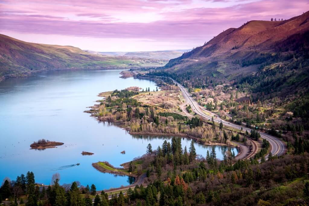 Cresta Rowena, Oregon