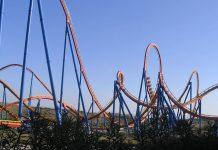 Montaña Rusa Superman, Parque Warner