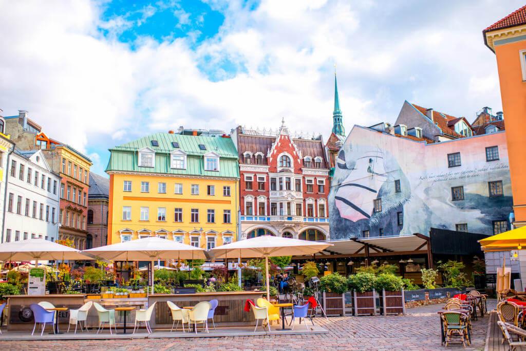 Plaza centro Riga