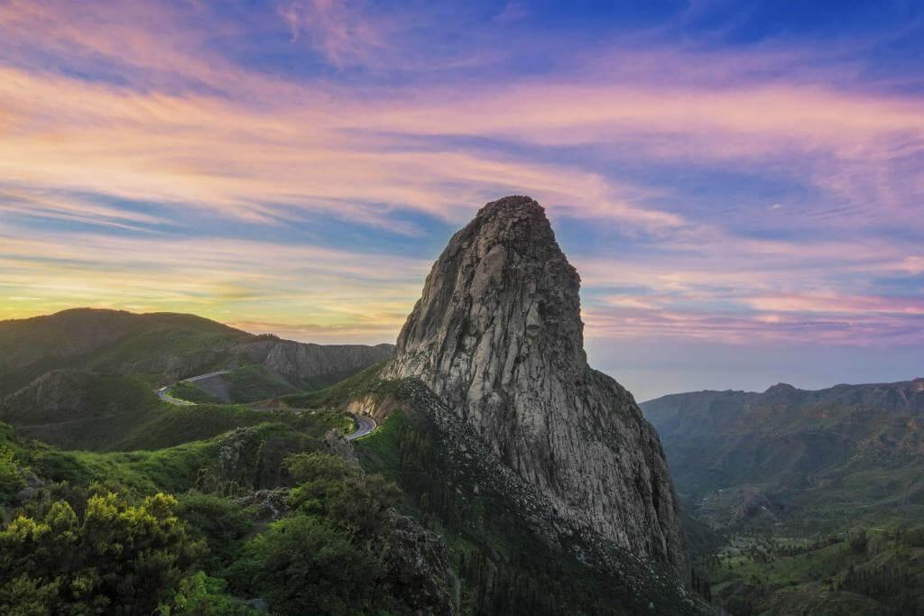 Roque Argando, Gomera