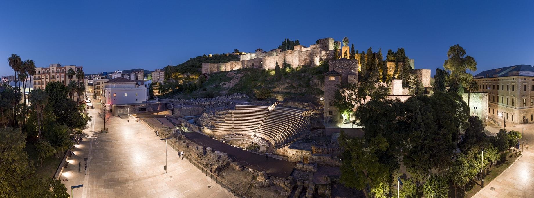 Teatro y Alcazaba
