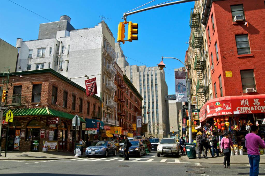 Calle Mott, New York