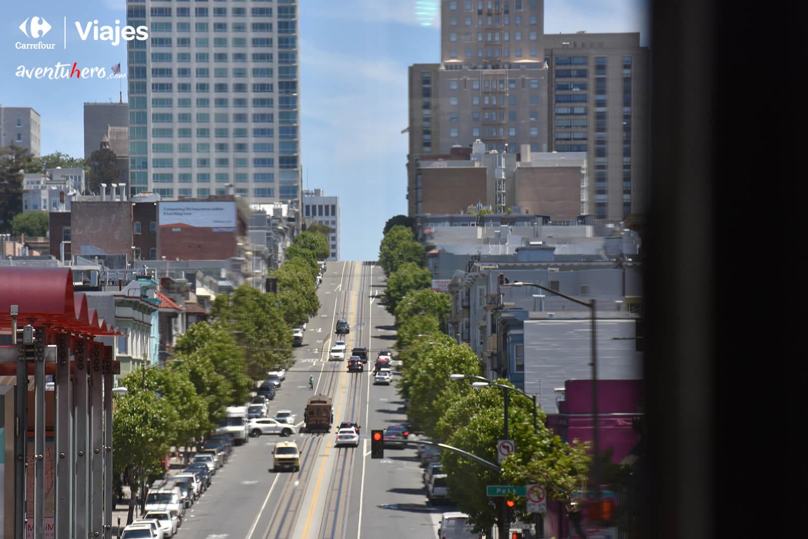 Vistas Cuestas de San Francisco
