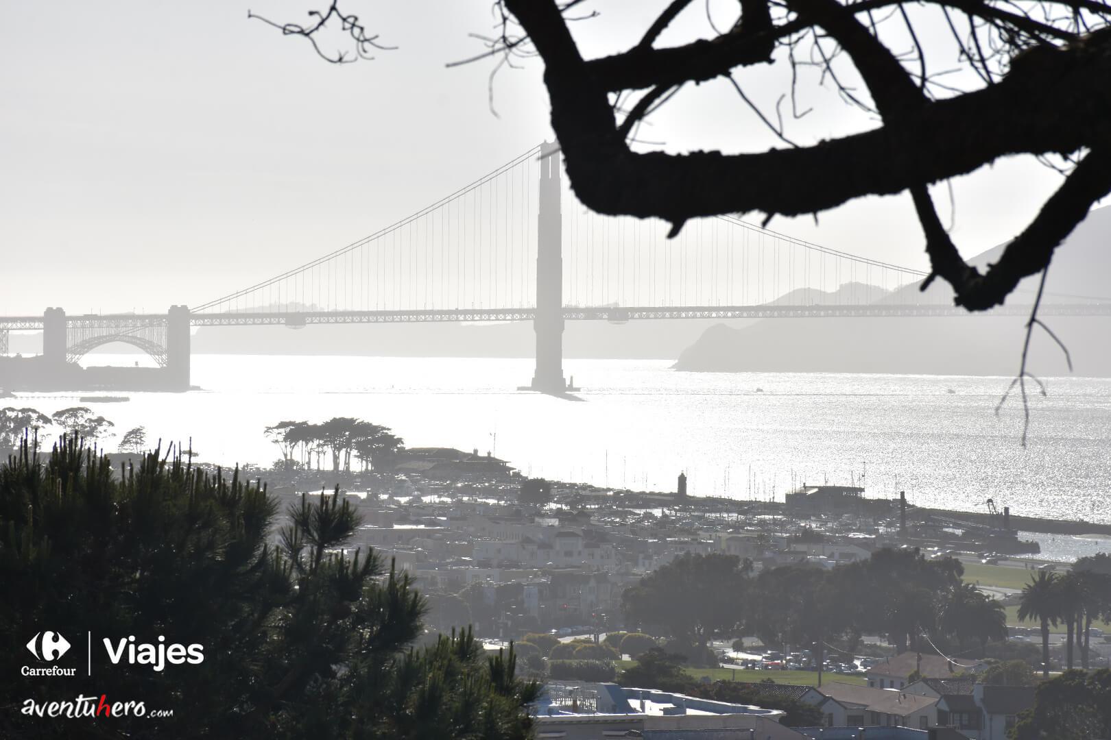 Golden Gate desde la distancia