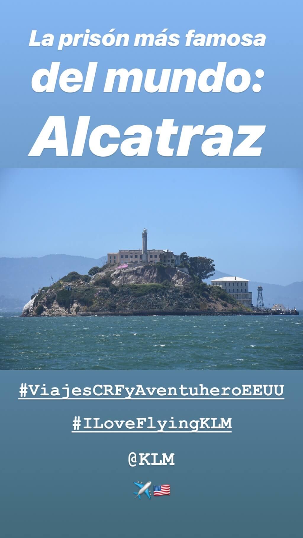 Alcatraz Instagram Story