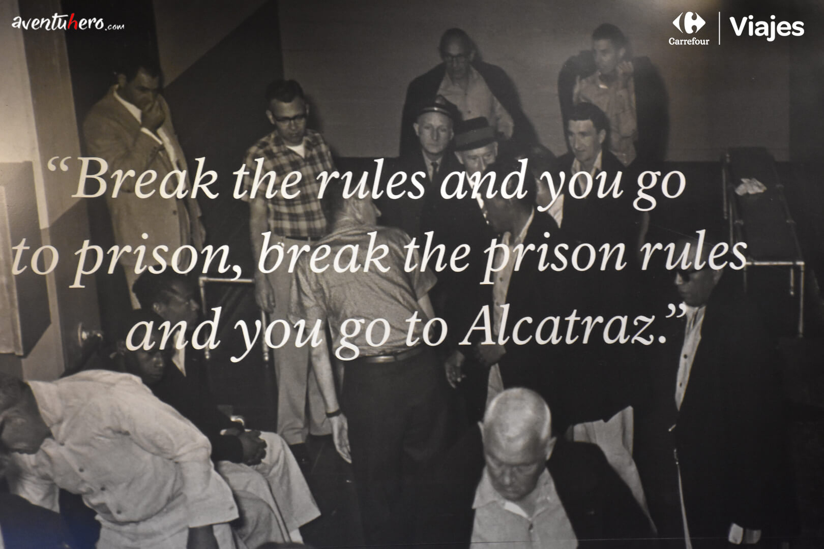 Alcatraz - If you break the rules