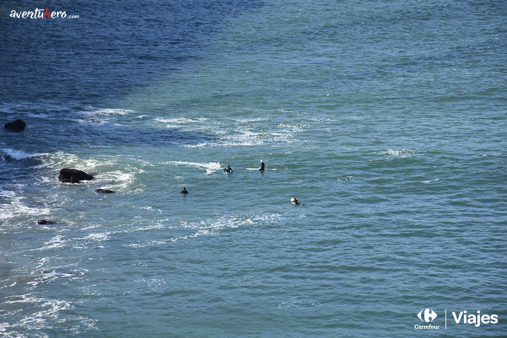 Surferos en Golden Gate