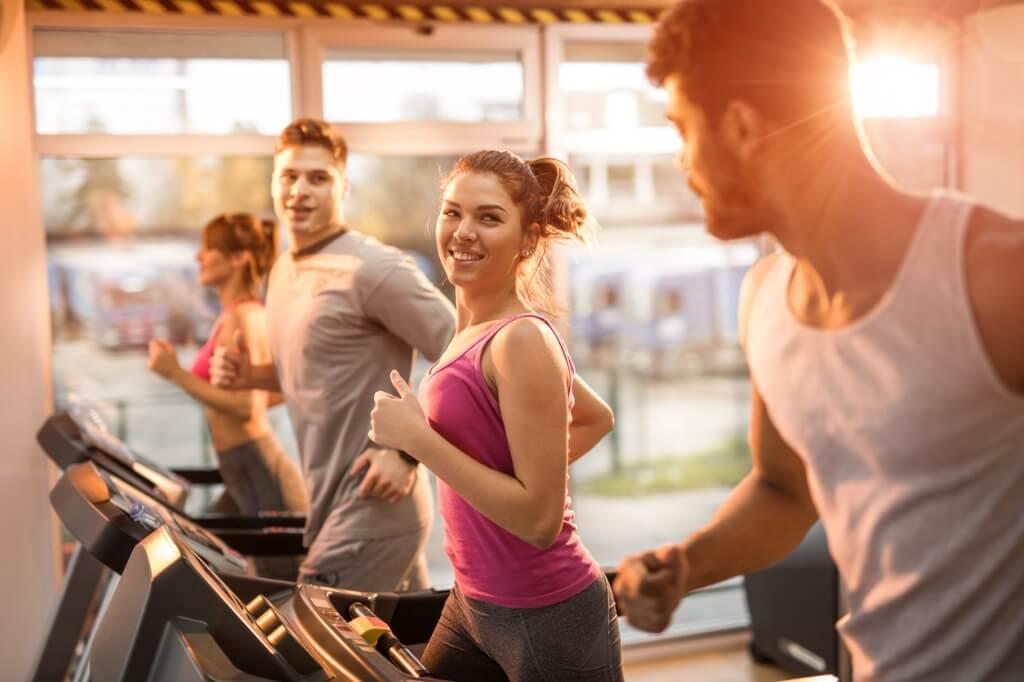 Chicos en el gym