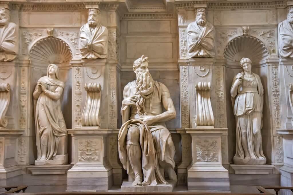 El Moisés, San Pietro in Vincoli