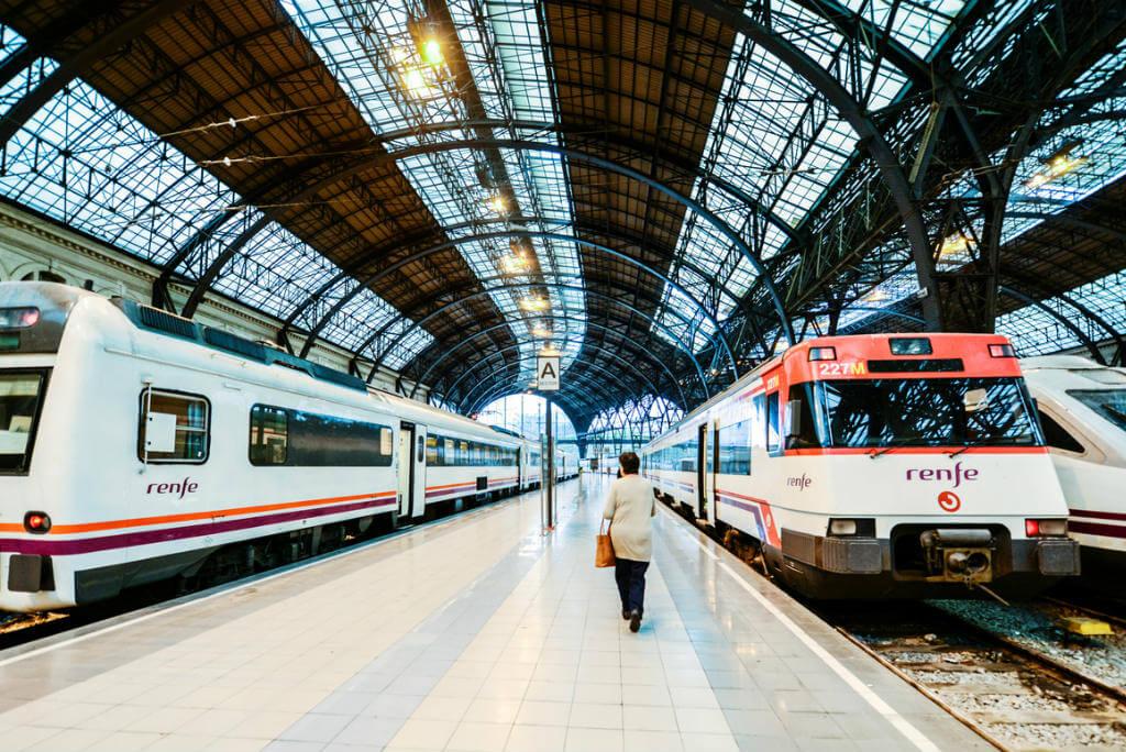 Estación de tren Barcelona