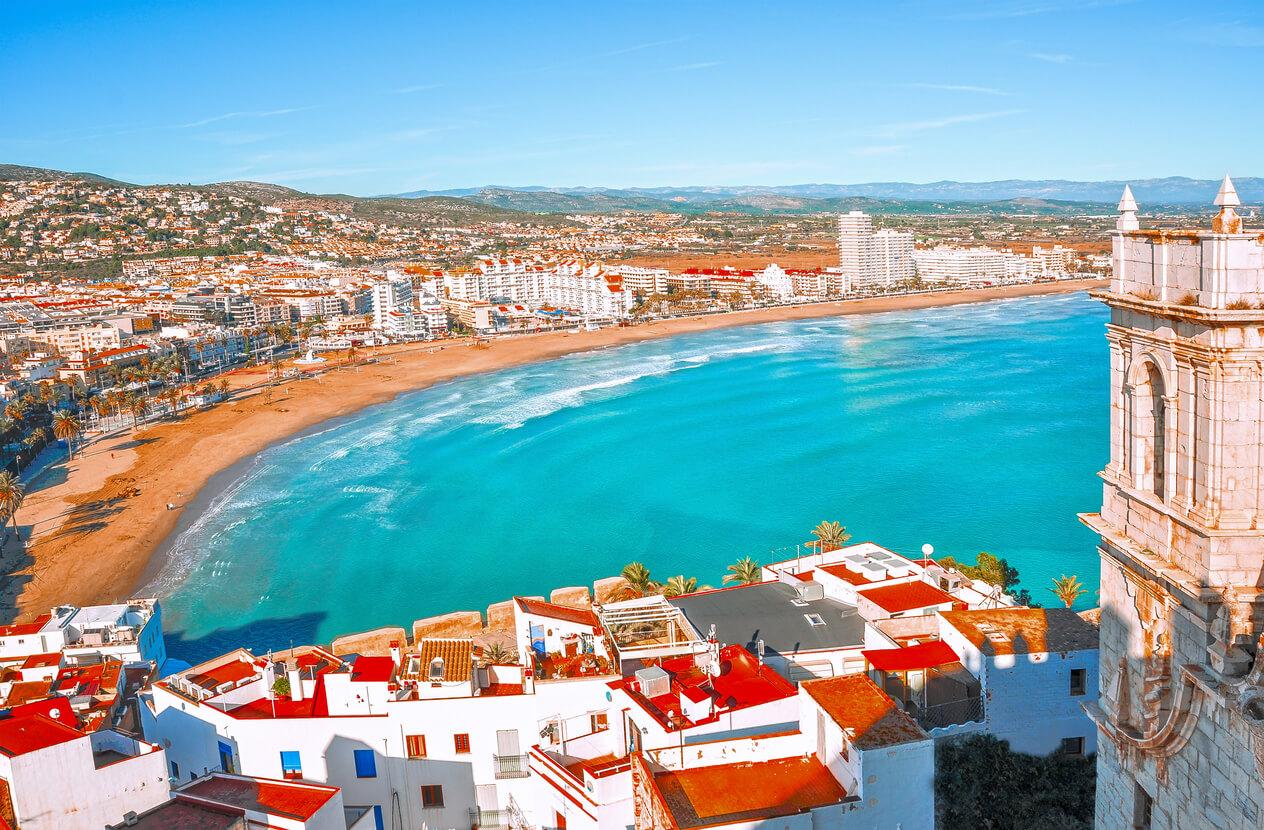 Vistas Playas de Peñiscola