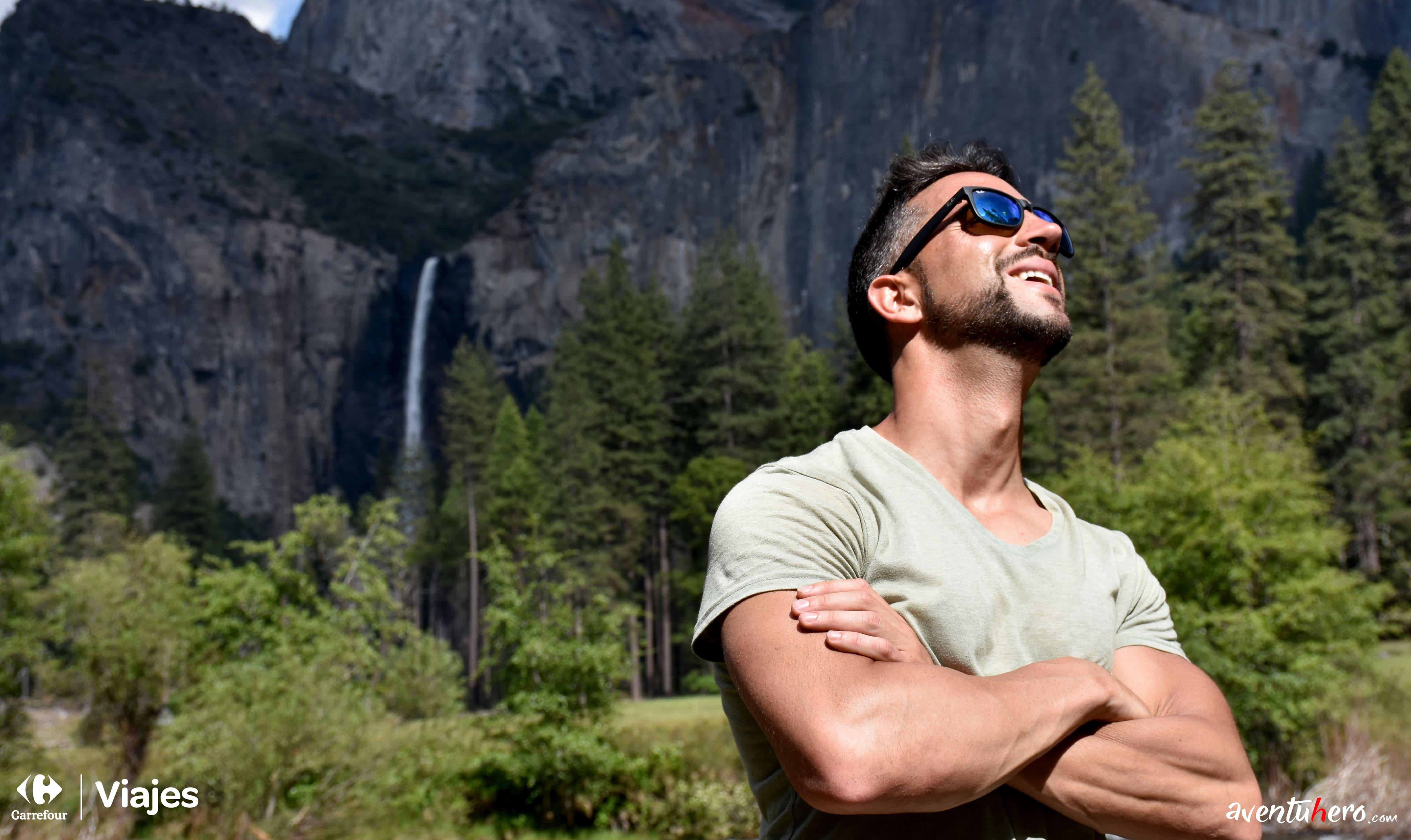 Aventuhero viaje en Yosemite