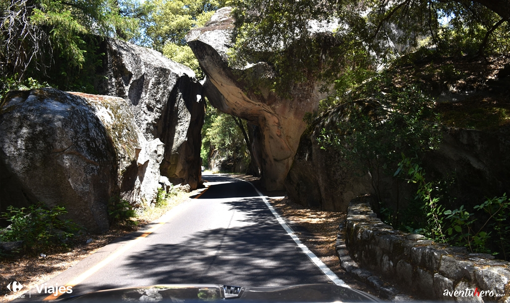 Carretera hacia Yosemite