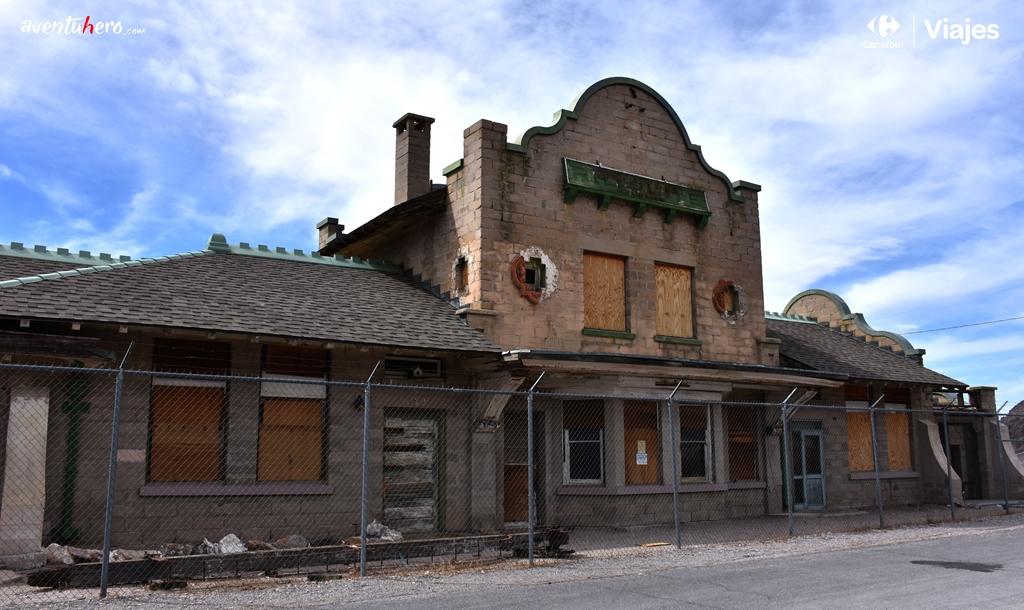 Death Valley Local abandonado