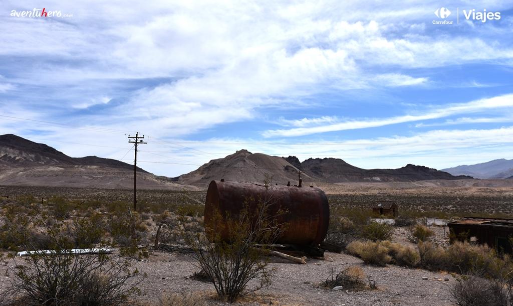 Objetos abandonados en Death Valley