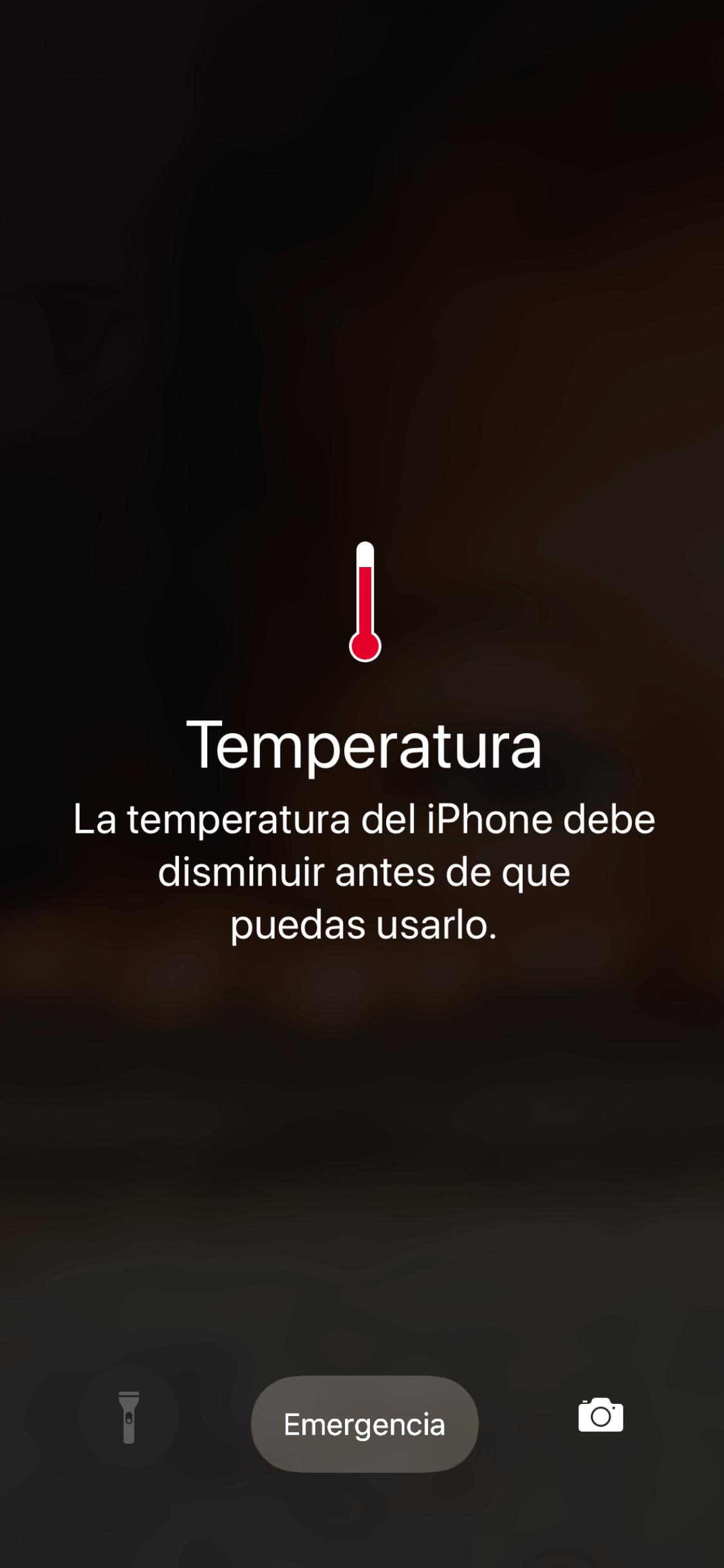Temperatura del Iphone en Death Valley