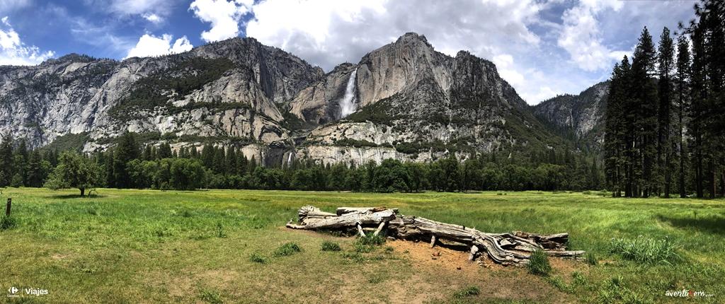 Visión panorámica de Yosemite