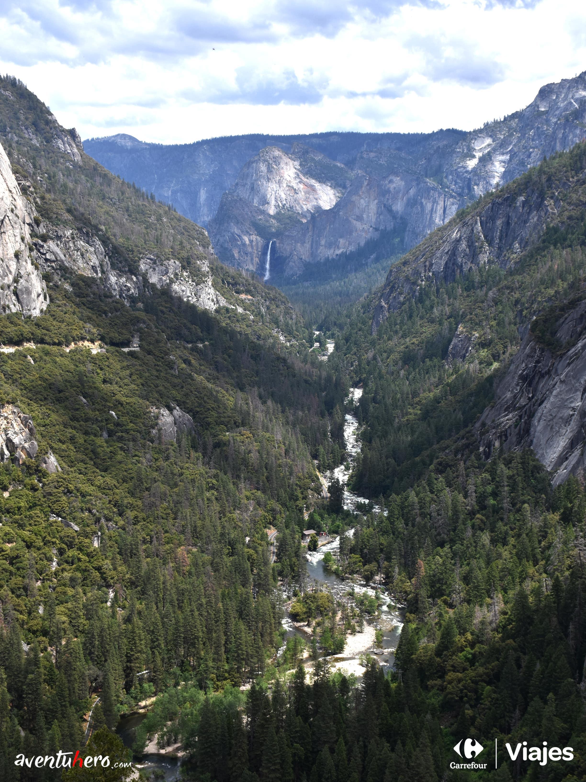 Vista general de Yosemite Valley