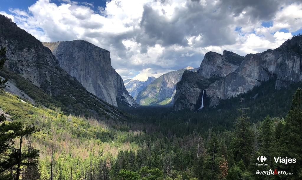 Vista general del Valle de Yosemite