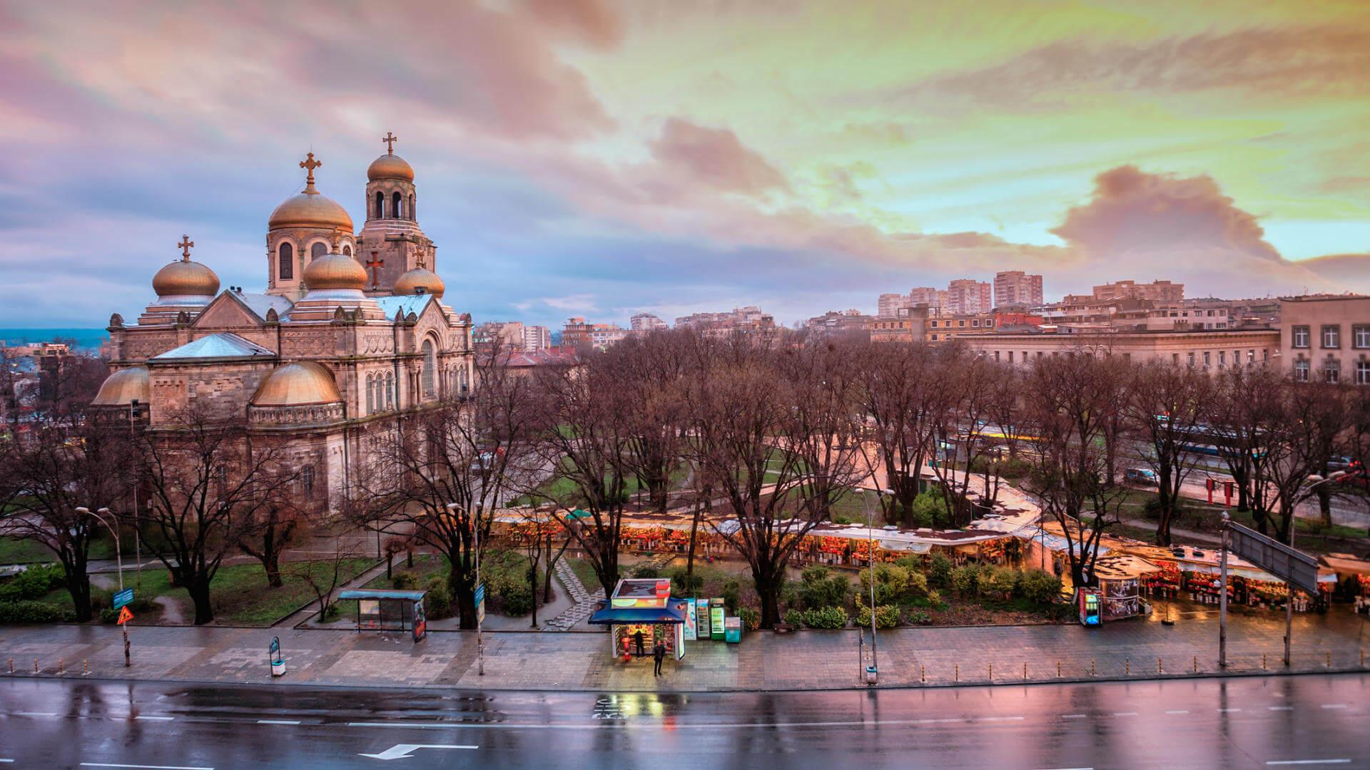 Panorámica de Bulgaria