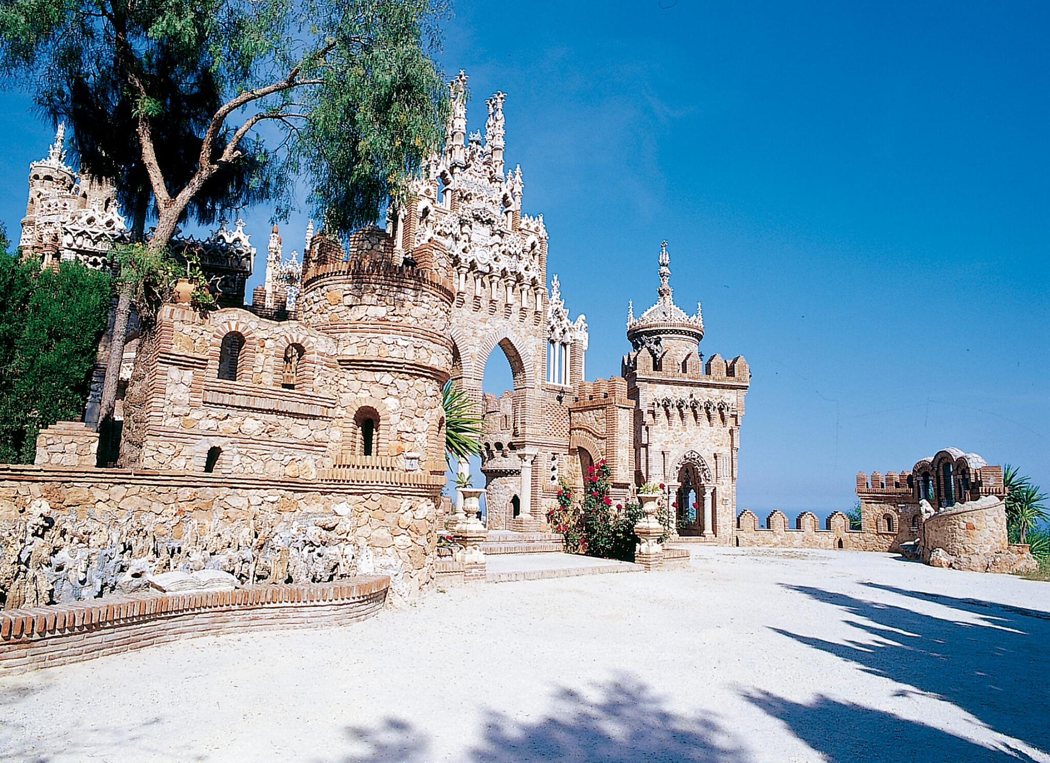 castillo colomares benalmadena