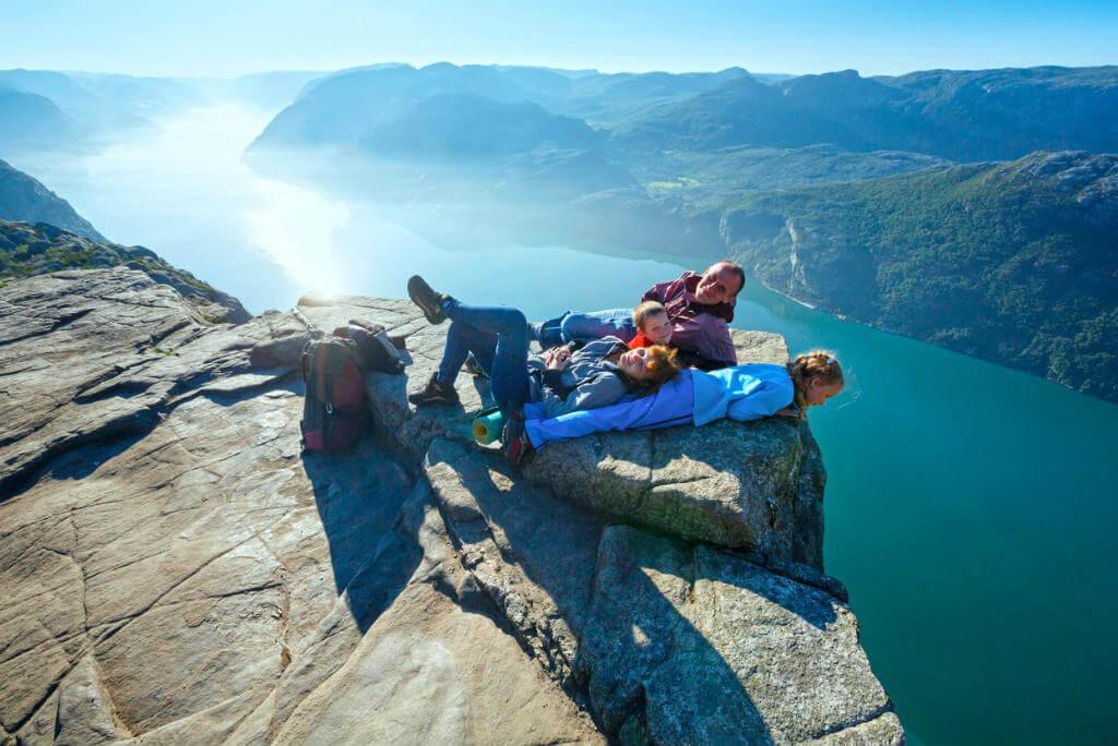 El púlpito, Noruega