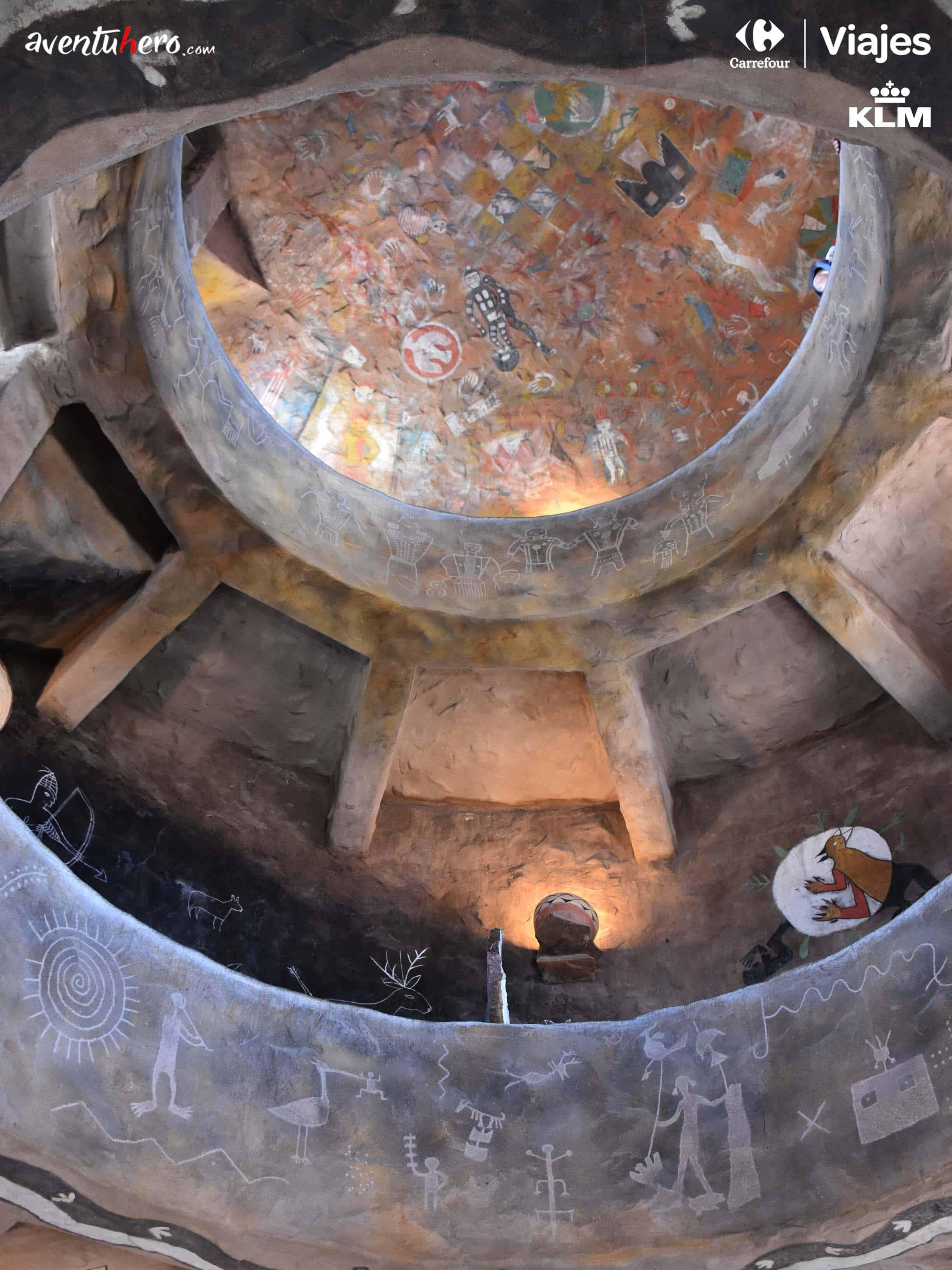 pinturas en cueva del gran cañon