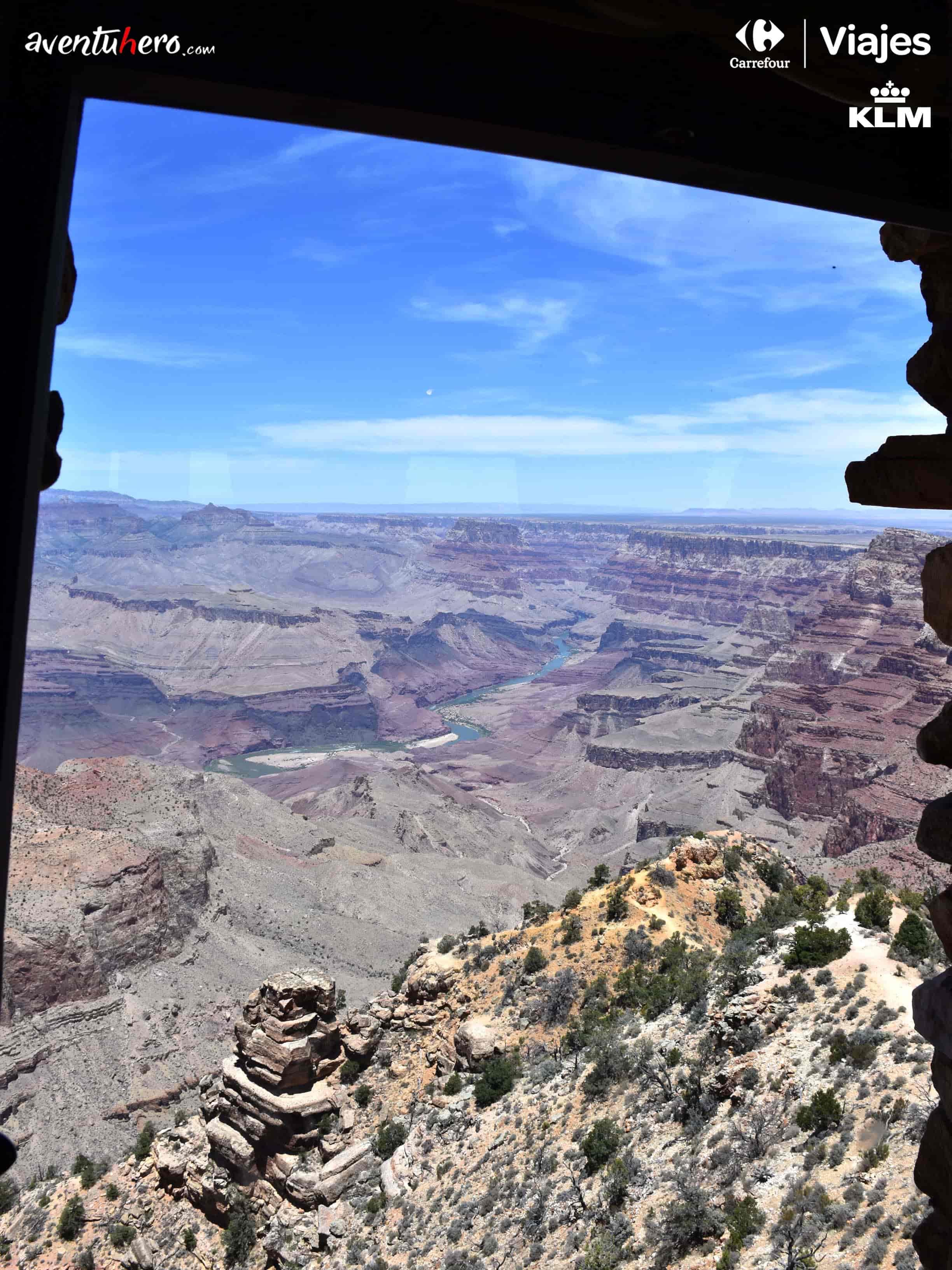 vistas del gran cañón de colorado