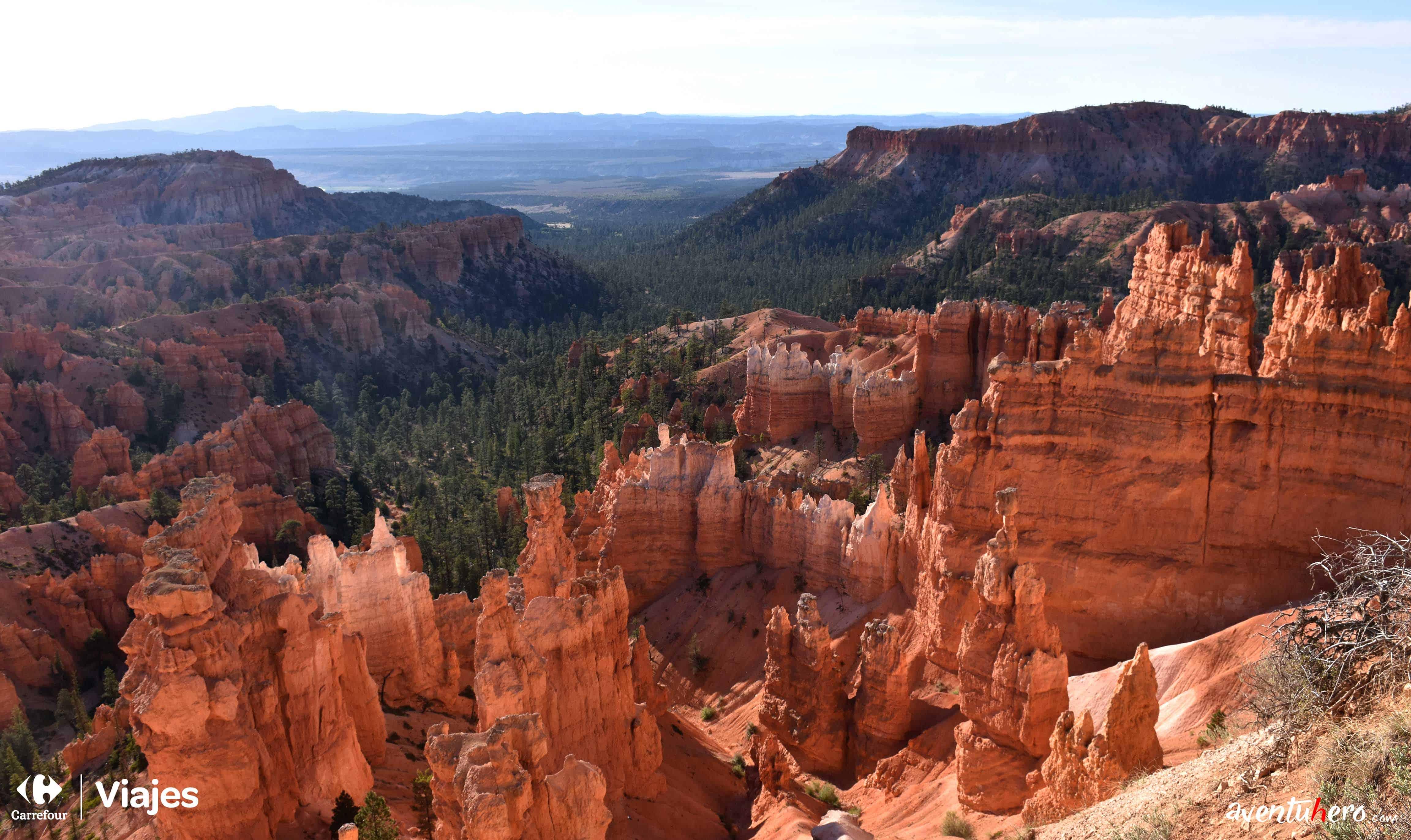 Bryce Canyon desde arriba