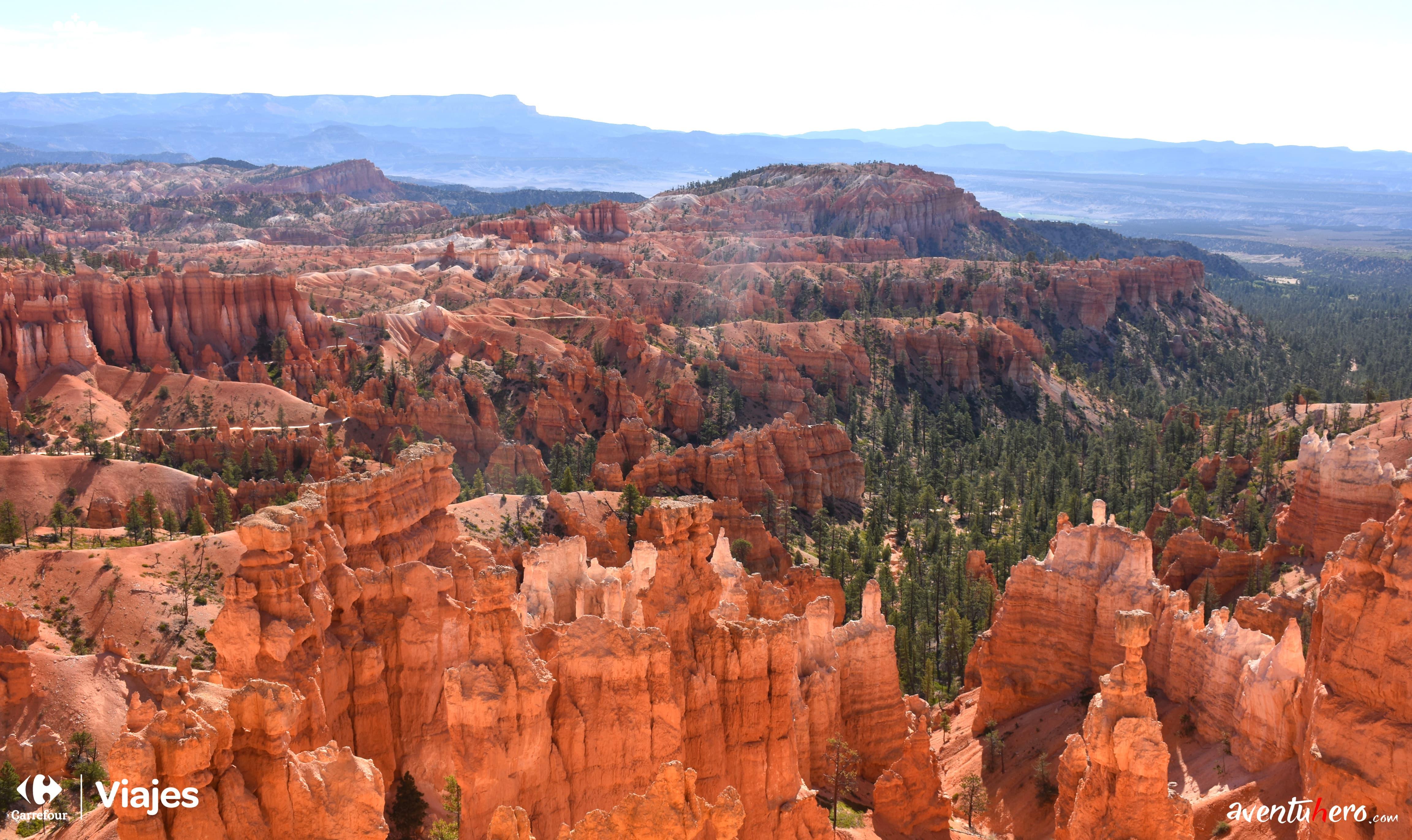 Bryce Canyon desde helicóptero