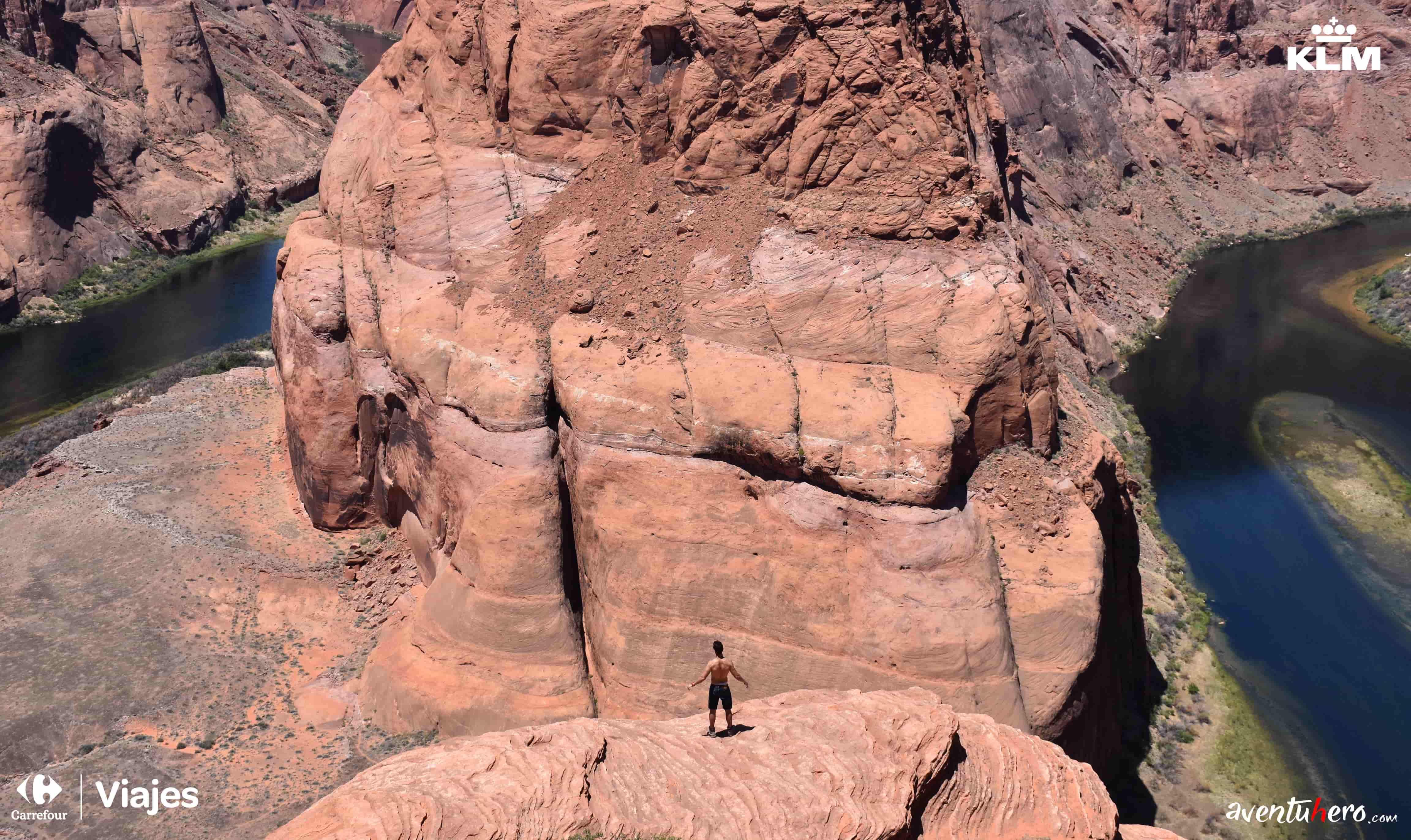 Glen Canyon aventuhero desde arriba