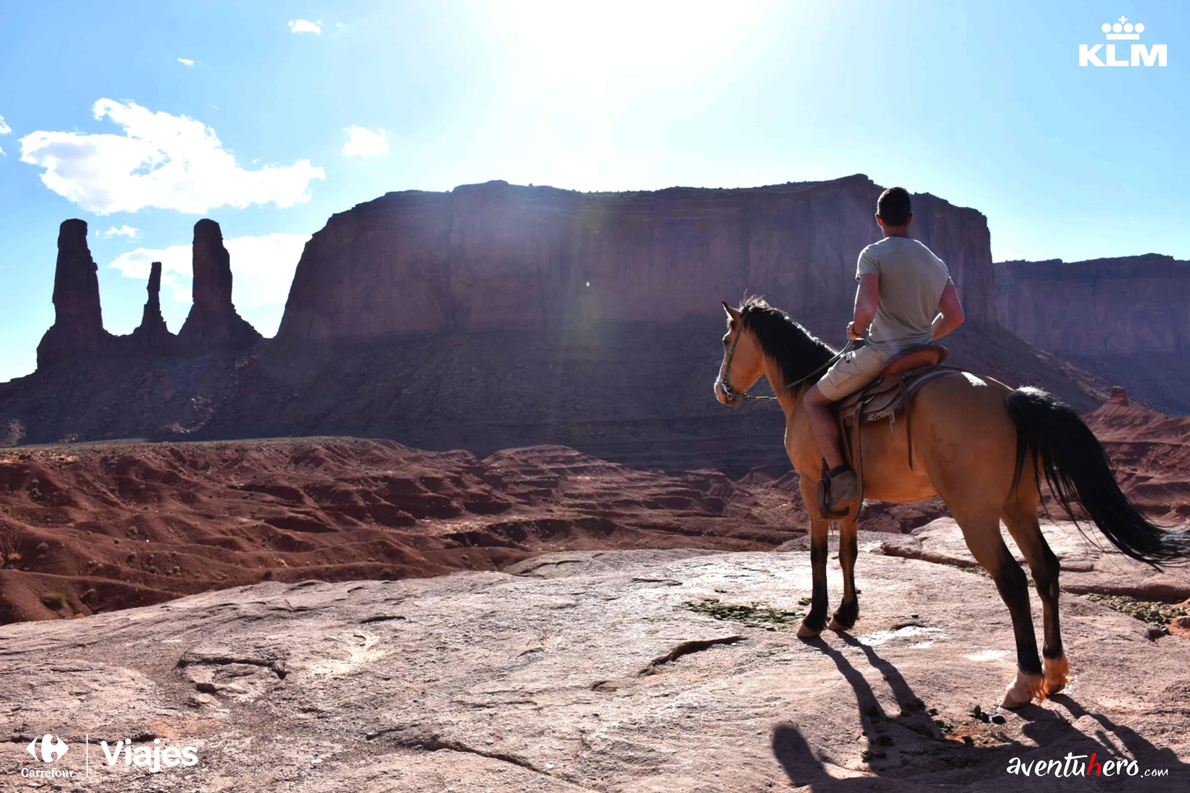 aventuhero a caballo