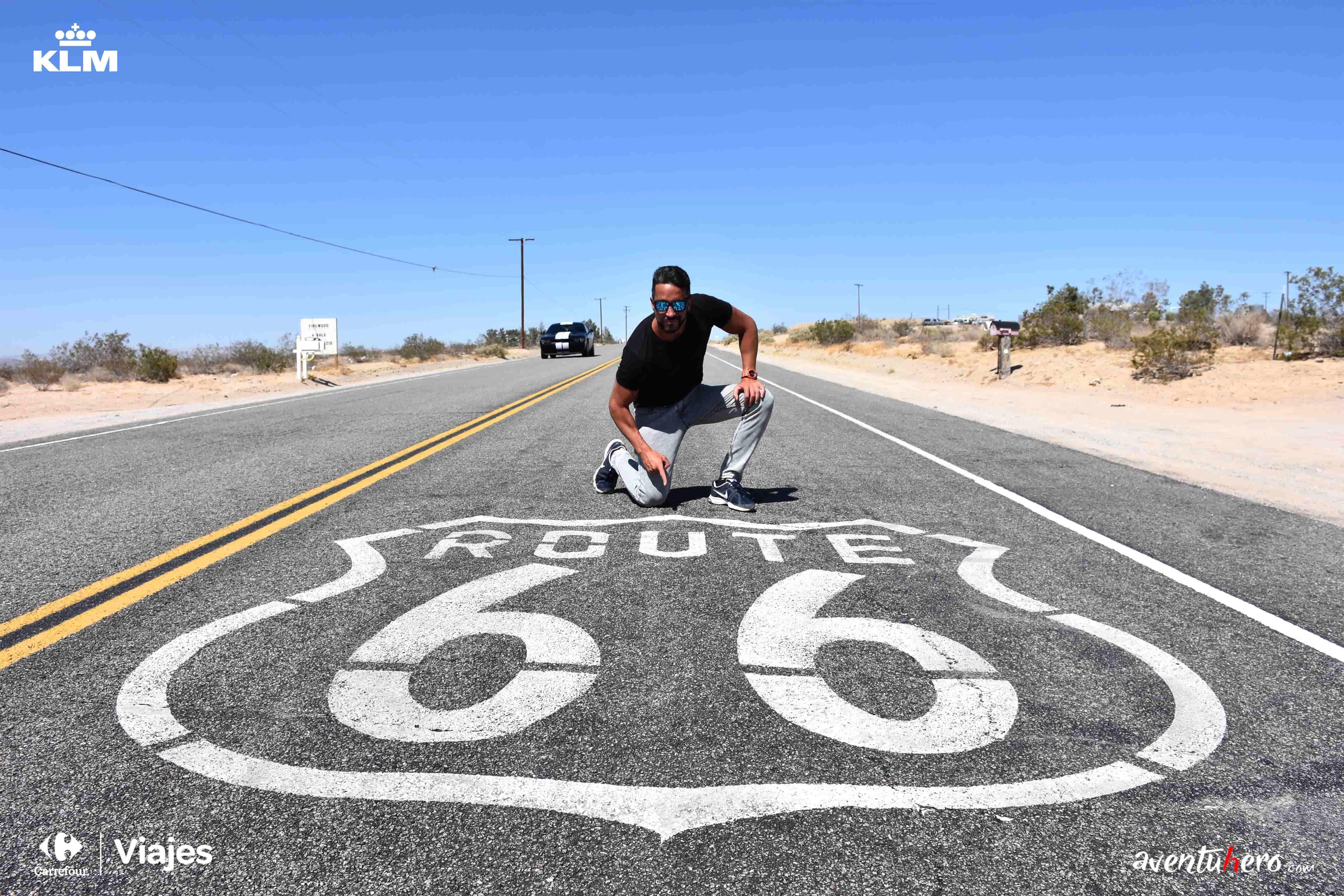 aventuhero en la ruta 66