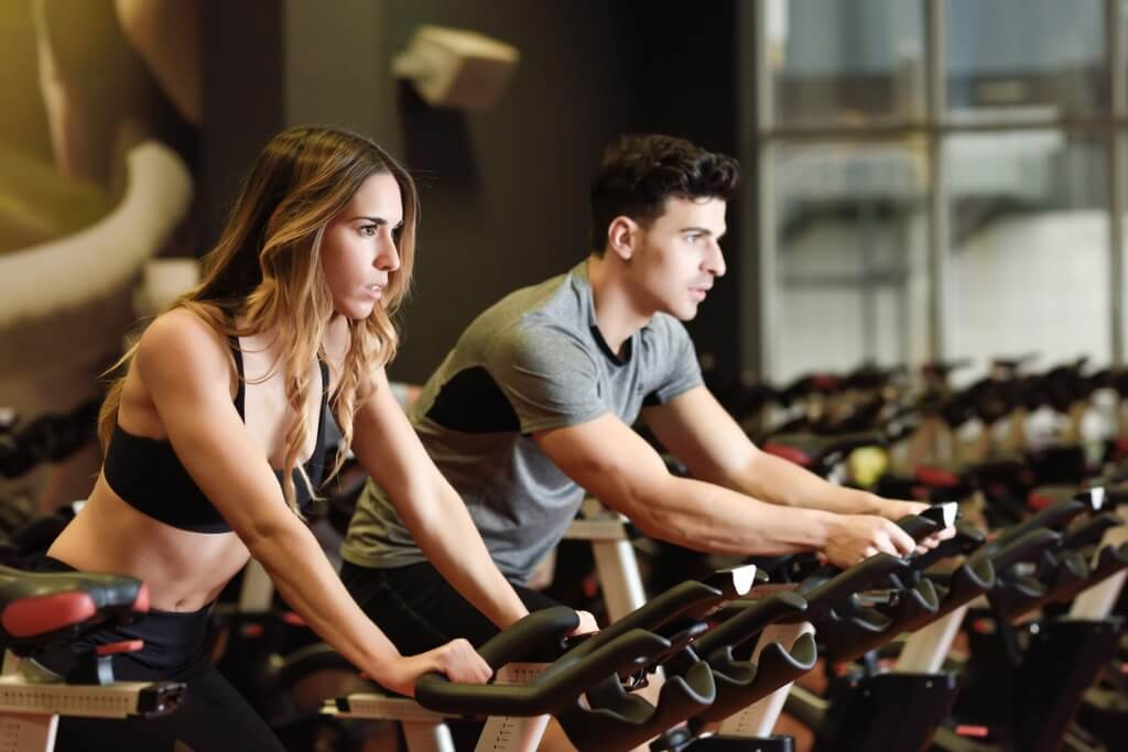 Clase colectiva spinning