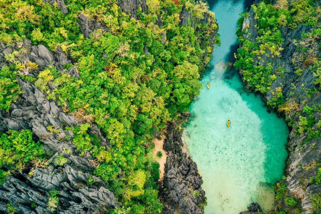Vista Aérea El Nido, Palawan