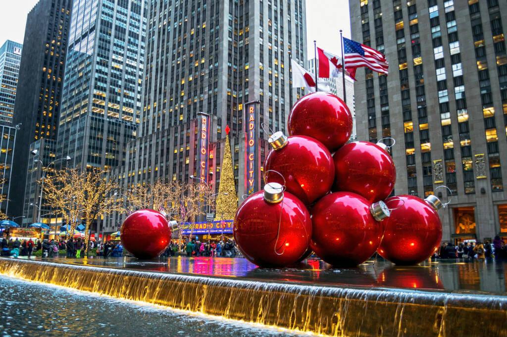 Decoraciones Navidad, Nueva York